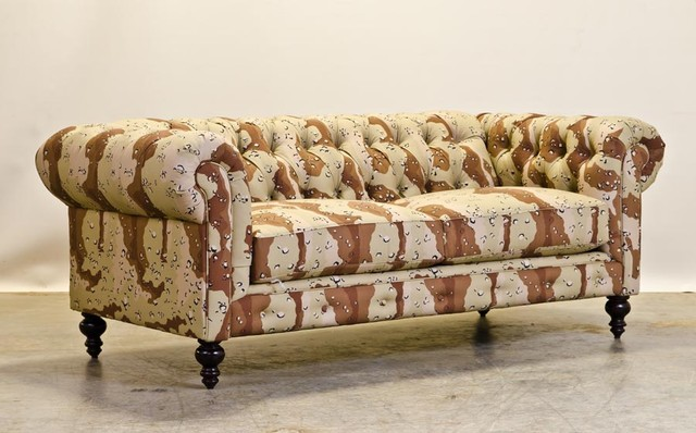Desert Camo Chesterfield Sofas charlotte by COCOCO Home, inc