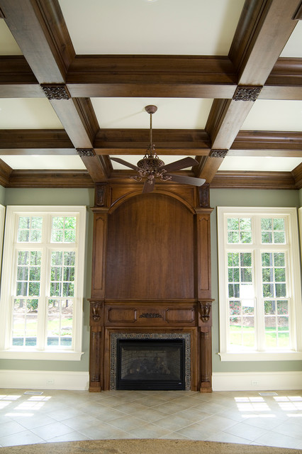 Kitchen and Bath Cabinets traditional-fireplaces