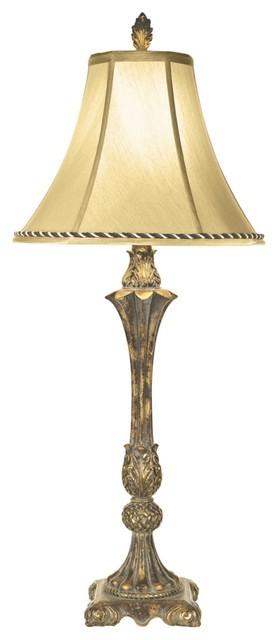 Traditional Kathy Ireland Italian Bud Vase Table Lamp traditional-table-lamps