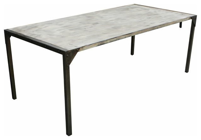 urban reclaimed douglas fir dining table industrial dining tables