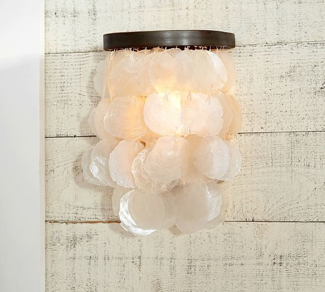 Capiz Sconce beach-style-wall-lighting