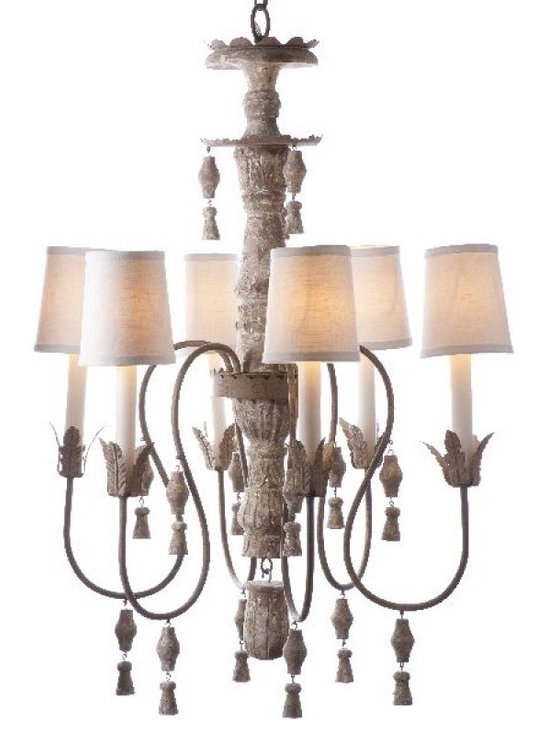 Shabby Chic Sale ~ Sale Ends Friday Febuary 15th - Changement Chandelier