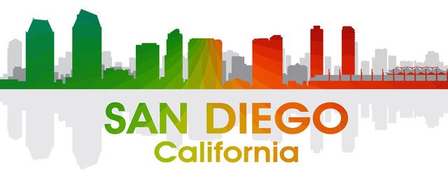 San Diego Rainbow Spectrum Print contemporary-prints-and-posters