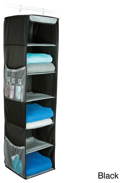 Richards Homewares Gearbox 6-shelf Sweater Organizer contemporary-closet-organizers