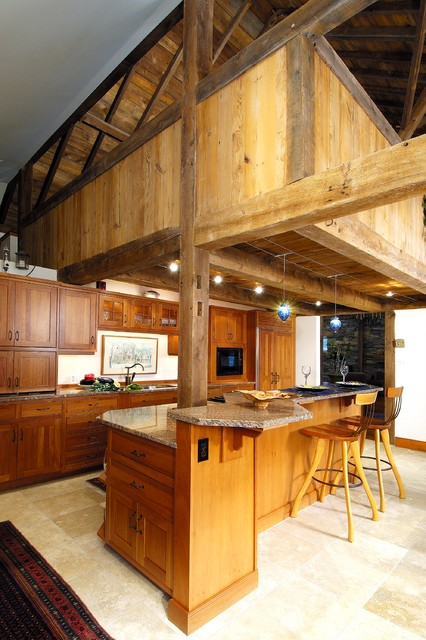 Gladwyne Barn rustic-kitchen