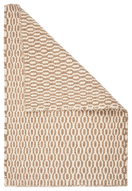 Hampshire Natural Wool Woven Rug contemporary-rugs