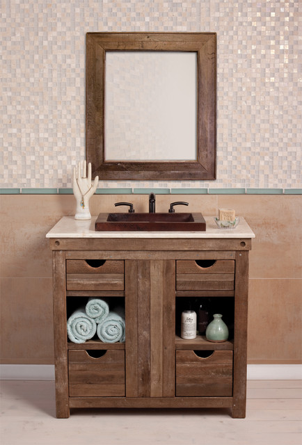 Vanity by Native Trails - Traditional - Bathroom Vanities And Sink ...