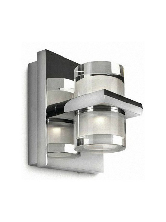 PHILIPS Glass Wall Sconce - PHILIPS Glass Wall Sconce