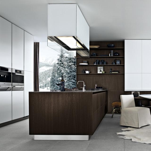 Varenna by poliform twelve kitchen cabinetry modern for Poliform kitchen designs