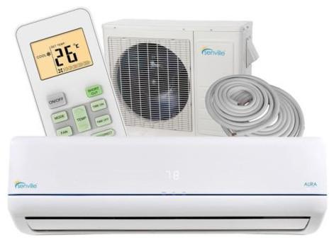 Senville Ductless Mini Split Air Conditioner Heat Pump 21 ...