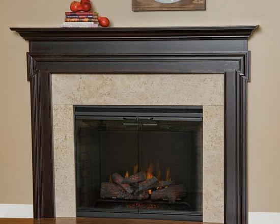 Sequoia Wood Fireplace Mantel -