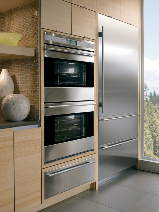 """Wolf 30"""" Double Electric Wall Oven, Classic Stainless Unframed 