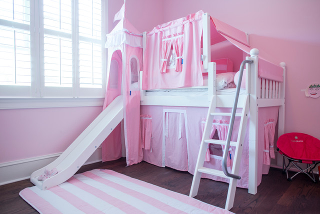 Toddler Bed For Girl Princess: Princess Castle Bed