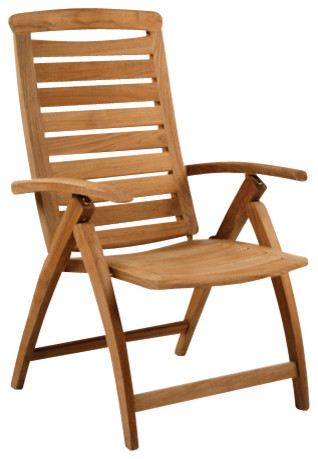 Catalina Adjustable Chair - By Kingsley Bate traditional-outdoor-lounge-chairs