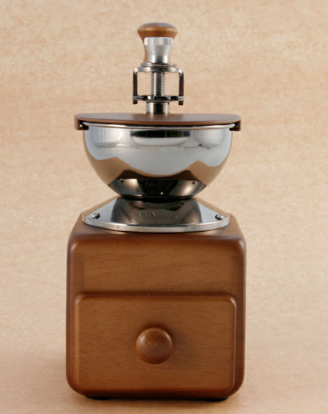 Coffee Mill And Scoop contemporary-food-mills