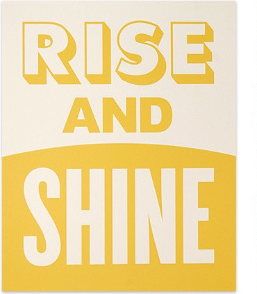 Rise and Shine Print eclectic-artwork