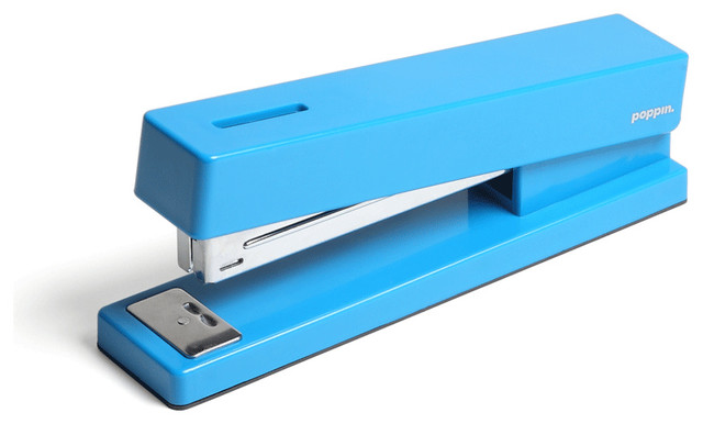 Pool Blue Stapler modern desk accessories