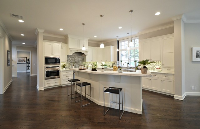 Livingston Custom Kitchen contemporary-kitchen