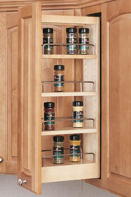 Rev-A-Shelf Wall Cabinet Organizer traditional-cabinet-and-drawer-organizers