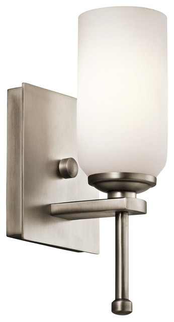 Kichler Lighting 42950AP Ladero Antique Pewter Wall Sconce rustic-wall-lighting