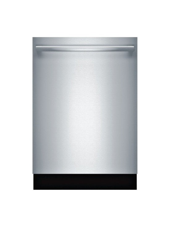 """BOSCH 24"""" Bar Handle Dishwasher 800 Plus Series- Stainless Steel 