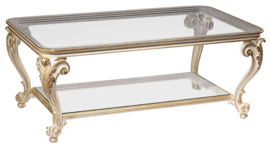 Louis Xv Style Coffee Table Traditional Coffee Tables By Inviting Home Inc