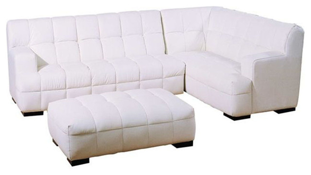 Unique Leather Sectional with Chaise modern-sectional-sofas