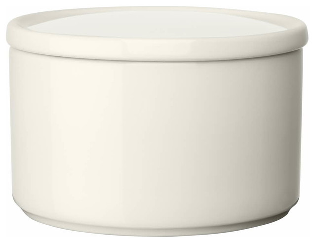 "Purnukka Jar 2.5"", White contemporary-food-containers-and-storage"