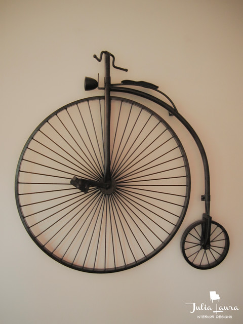 Wall Art Metal Bicycle : Bicycle wall art traditional indianapolis by julia