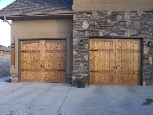 Monument Custom Doors traditional-garage-doors-and-openers