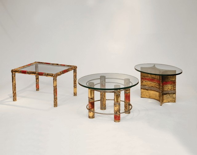 Silas Seandel Selection of Dynasty End Tables eclectic-side-tables-and-end-tables