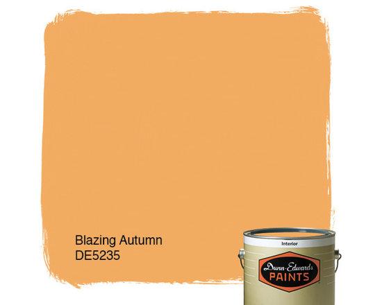 Dunn-Edwards Paints Blazing Autumn DE5235 -