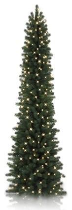 Balsam Hill Sonoma Slim Pencil Artificial Christmas Tree