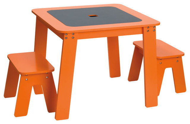 Chalk Table Contemporary Kids Tables And Chairs By
