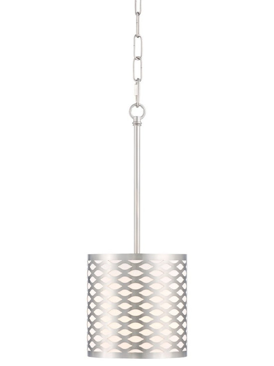 """Possini Euro Design - Possini Euro Arion 7 1/2"""" Wide Brushed Nickel Mini Pendant - Arion contemporary mini pendant light. By Possini Euro Design. Maximum 60 watt bulb (not included). Includes 6 feet of chain 10 feet of cord. 20 1/2"""" high. 7 1/2"""" wide.  Arion contemporary mini pendant light.  By Possini Euro Design.   Maximum 60 watt bulb (not included).  Includes 6 feet of chain 10 feet of cord.   20 1/2"""" high.  7 1/2"""" wide.  Canopy is 5"""" wide.  Hang weight is 3.5 lbs."""