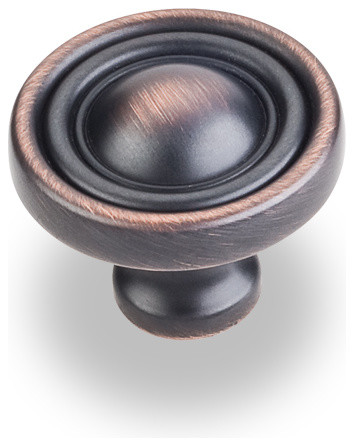 """Copper Cabinet Knobs, 1 3/8"""" traditional-cabinet-and-drawer-knobs"""
