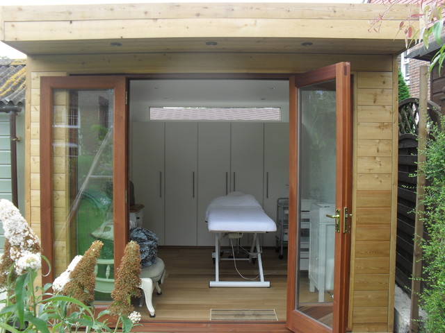Beauty treatments in garden studio kent contemporary for Garden rooms kent