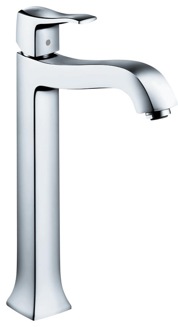 Hansgrohe 31078001 Metris C Faucet Tall contemporary-kitchen-faucets