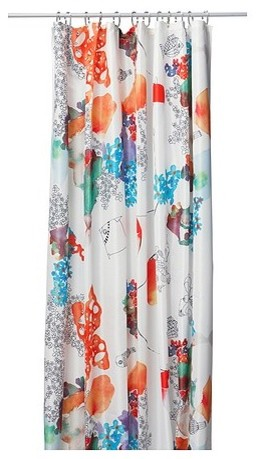 TALLHOLMEN Shower Curtain modern shower curtains