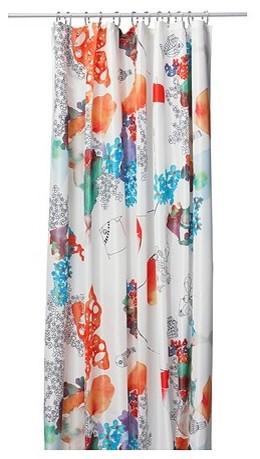 TALLHOLMEN Shower Curtain modern-shower-curtains