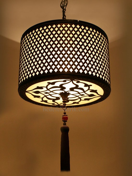 Turkish Style 30cm. Lampshade - *Code: HD-04159_12
