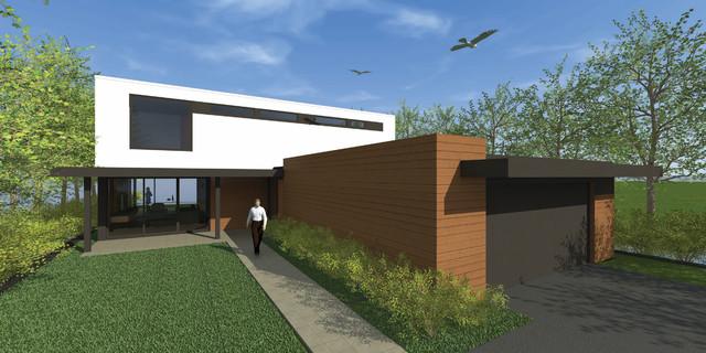 Home #7: Charles R. Stinson Architecture + Design modern