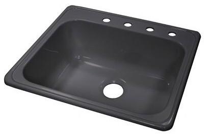 "Deluxe 25"" x 22"" Kitchen Sink modern-bath-products"