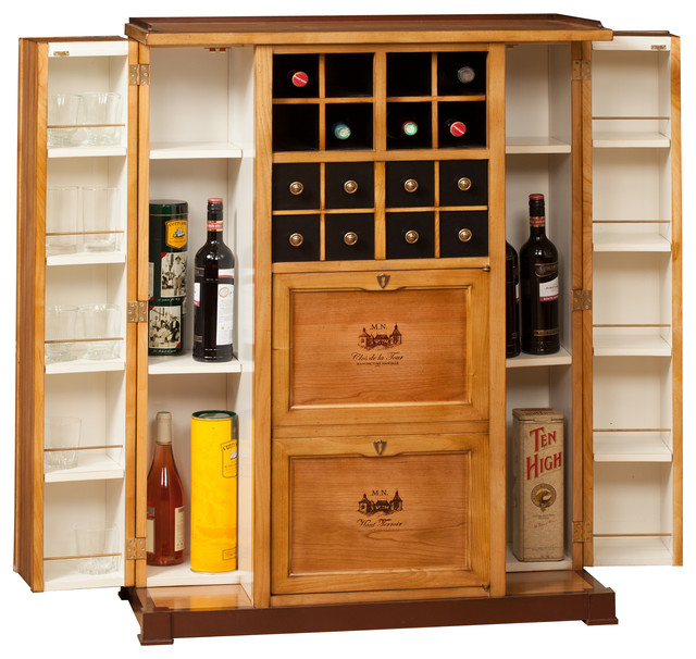 Nancelle collection eclectic wine and bar cabinets raleigh by ovation usa Home bar furniture raleigh nc
