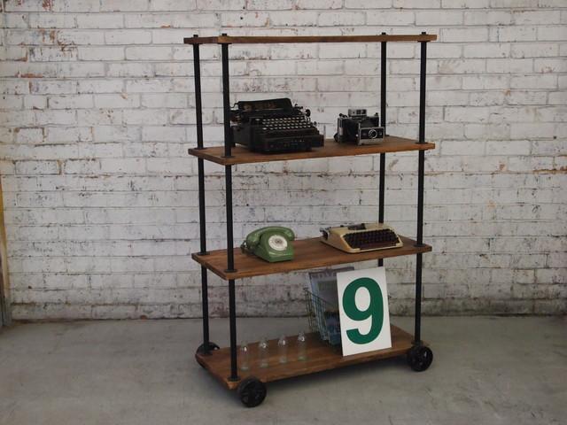 Vintage Industrial Furniture storage-and-organization