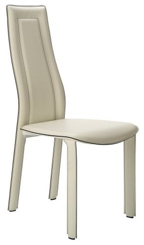 Chintaly Doreen High Back Modern Dining Side Chair - Set of 4 contemporary-dining-chairs