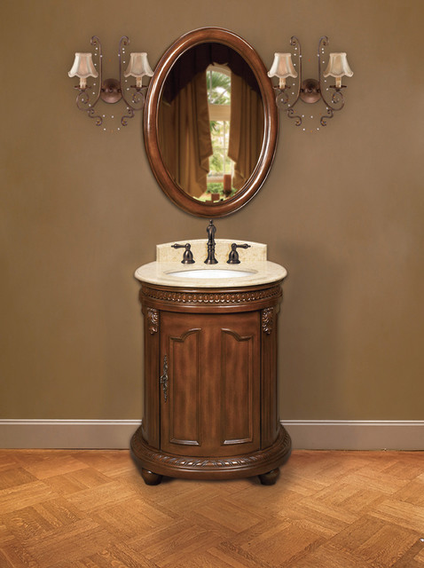Belle Foret Model BF80020R Petite Single Basin Vanity bathroom-vanities-and-sink-consoles