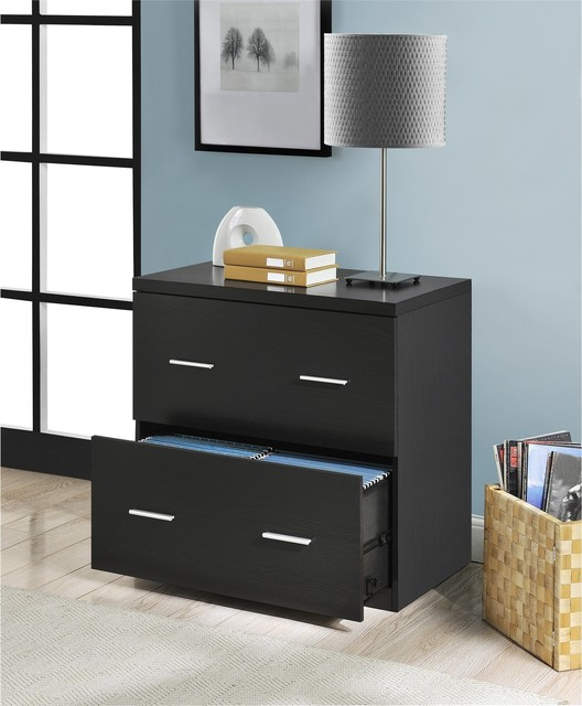 Awesome  File Cabinet  Walnut  Contemporary  Filing Cabinets  By Edgewood