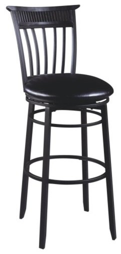 Hillsdale Cottage 30 in. Swivel Bar Stool traditional-bar-stools-and-counter-stools