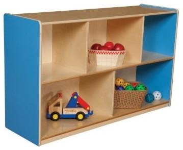 Wood Designs 30H in. Single Storage modern-kids-products